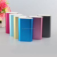 Colorful high quality 5200mAh micro usb Mi mobile power bank charger with led indicator and CE/ROHS/FCC certification