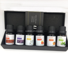 OEM/ODM 6/10 ml Aromatherapy Gift Set 6 Pure Oil 10ml Private Label 100% Natural and Pure Essential Oil Set