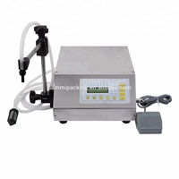 Automatic liquid tooth paste filling machine with conveyor PLC control