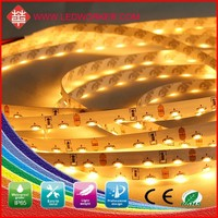 Warm white, cool white , white flowing led strip light, 120SMD/M, top smd 335,No flicker/ uv