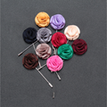 5 brooches flower a lot mens lapel wedding brooches