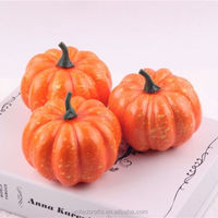 3 Pcs/lot Foam Halloween Artificial Fake Decorative Vegetables Pumpkins Decor