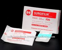 Tegaderm type transparent wound dressing with pad - 6 cm x 7 cm