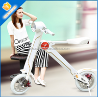 New folding electric bicycles for adults, foldable electric scooters , mini folding electric bikes