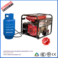 Commerical type 5kw Gasoline LPG gas generator BL7000PG