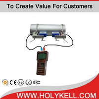 Clamp-on type handheld ultrasonic flow meter