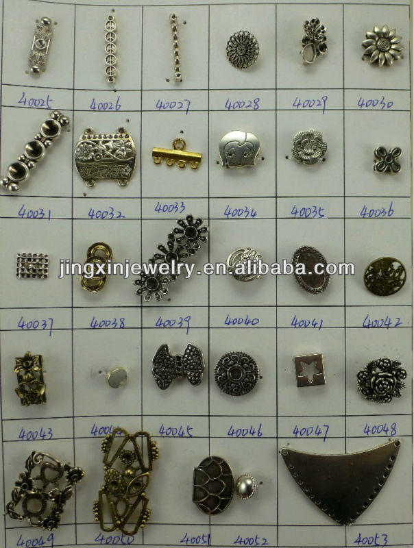 2013 gold filled Jewelry Findings Alloy Charm and Pendants