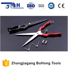 High hardness sharper blade PVC handle professional wool scissors