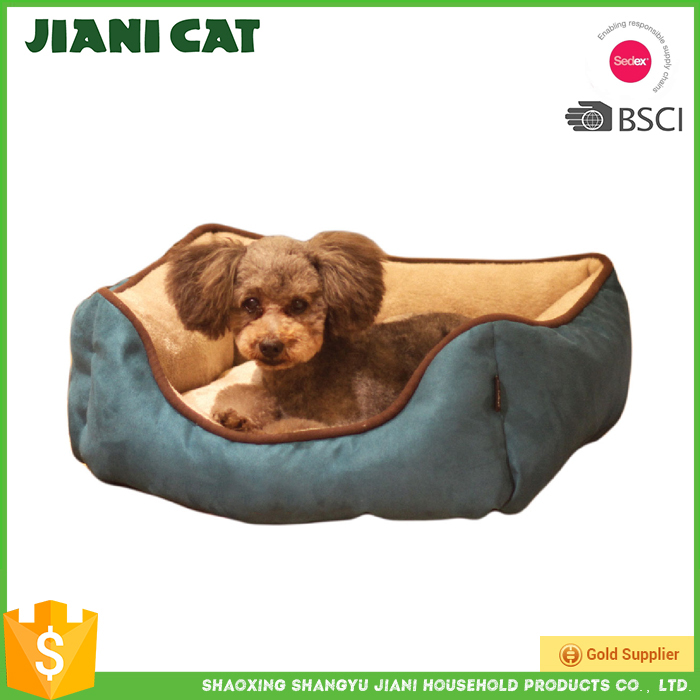 wholesale on alibaba suede material cozy plush pet bed of dog bed,christmas dog bed