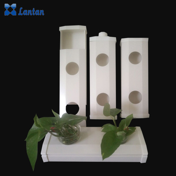 2017 Wholesale Newest Plastic NFT gully system PVC Hydroponics Plant Pipe