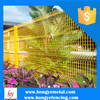 Decorative Flower Garden Welded Wire Fence 3D Fence