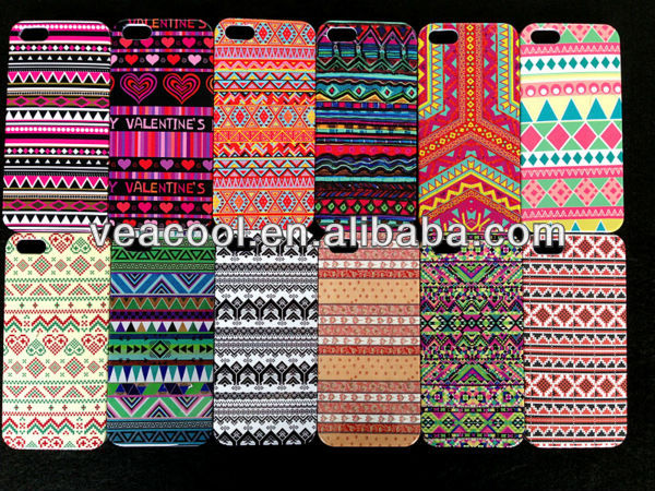 Stylish Aztec Tribe Retro Vintage Tribal Case Cover For Apple iPhone5 iPhone 5 5G