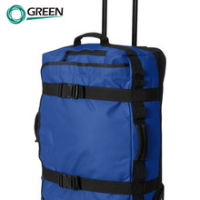 Cheap Fashion Lightweight Pvc Tarpaulin 1680D Polyester Travel Time Trolley Bag