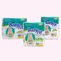 Wholesaler BOBO BABYFIT baby diapers cheap bulk factory in China