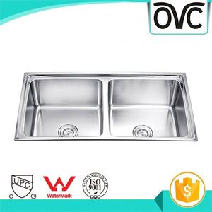Simple Design Factory Supply Deep Bowl Wholesale Solid Surface Stainless Steel Sink