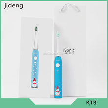 IPX7 waterproof sonic vibration toothbrush own design toothbrush electric rechargeable toothbrush