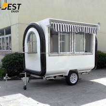 Exporting standard hot sale customizable mobile fast food trailer