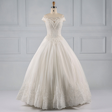 Graceful ivory vestidos de novia wedding dresses made in china ball gown wedding gowns