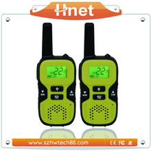 Frequency LCD Display Flashlight Handy radio walkie talkie