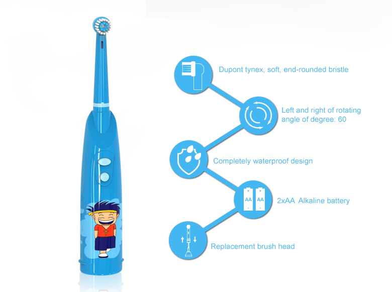 Inoovative auto kids toothbrush