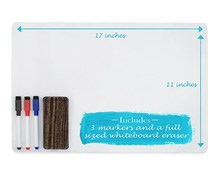 Magnetic Whiteboard 0.5 mm Dry Erase Magnet Sheet with Custom Size White Board