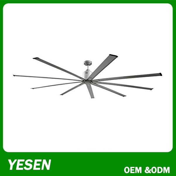 360 degree Big ceiling fan