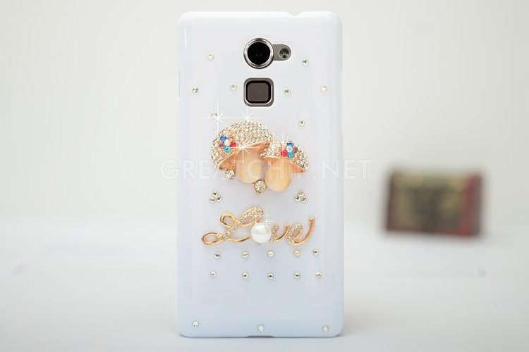 Crystal clear diamond soft slim TPU case for Huawei Mate 8/7