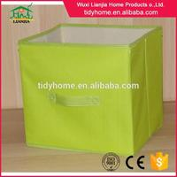 Trade assurance fabric storage bin with grommet provider