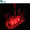 LED light dancing water spray ring fountain