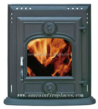 cast iron fireplace insert stove(JD003)