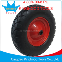 Flat Free Wheel Barrow Tire Solid Cart Tire 4.80/4.00-8