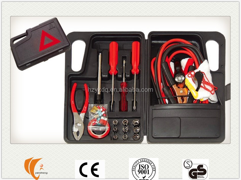 31pcs Car Emergency Roadside Kit
