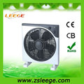 KYT30-4 Home appliances emergency rechargeable portable dc 12v fan 12 inch