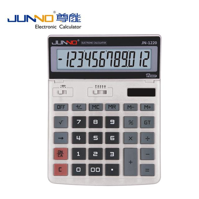 office desks calculators with 12 digits dual power