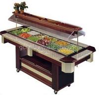 Buffet Counter/Buffet Salad Cooler/Restaurant Buffet Equipment
