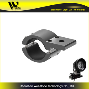 Multi size clamp mounting bracket for led light bars