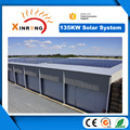 On Grid High Quality 135kw Solar Panel Power System for Office