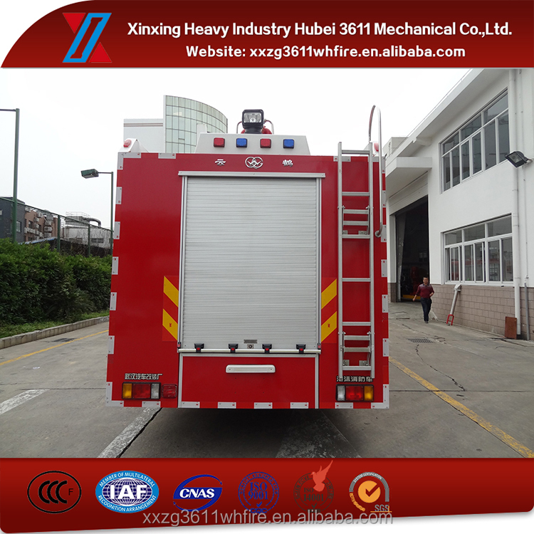 Contemporary Hot Selling New Medical Equipment Emergency Rescue 6t Foam Fire Truck Foam Tenders Fire Engine