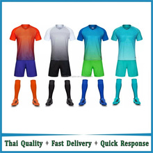 Wholesale Blank Football Uniforms Cheap Plain Soccer Uniforms