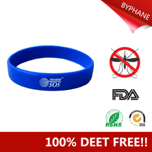 Hot Selling Snap Silicone Band Mosquito Repellent Wristband Bracelet For Mosquito