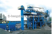 Road construction machinery asphalt mixing plant with heating reprocess