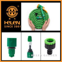 2015 new products trustworthy china supplier in home & garden expandable garden hose water Brass Fitting Garden Hose