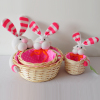 wholesale Easter wicker gift basket