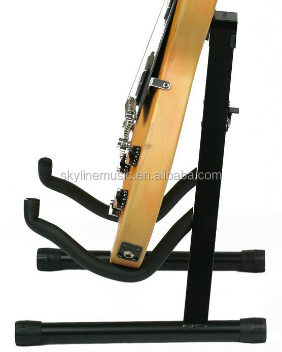 A style guitar Stand, guitar three seat Frame