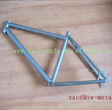 titanium mtb bike frame with replaceable dropouts factory direct supply titanium mtb bike frame custom titanium mtb bike frame