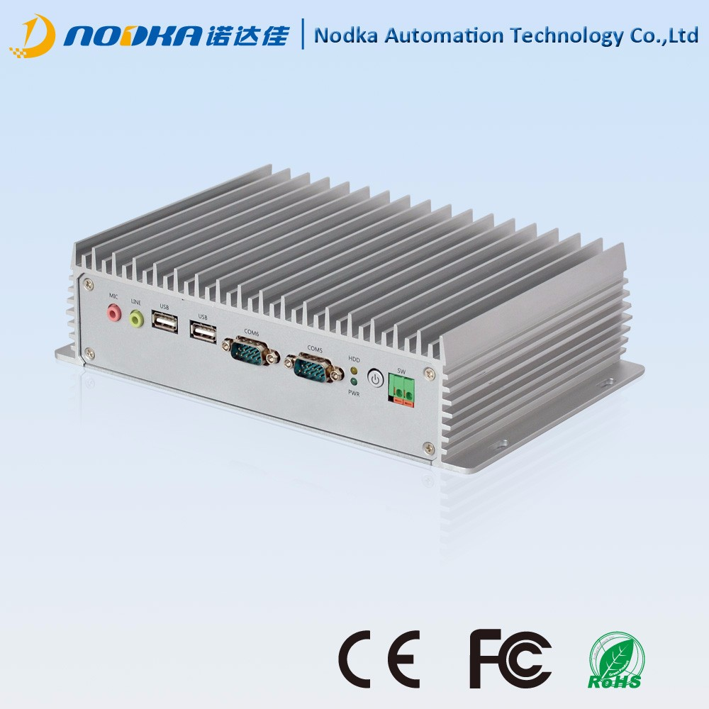 Hot sale embedded computer,Intel Atom D2550 ultra-thin mini PC for industrial,vending,kosk puopose