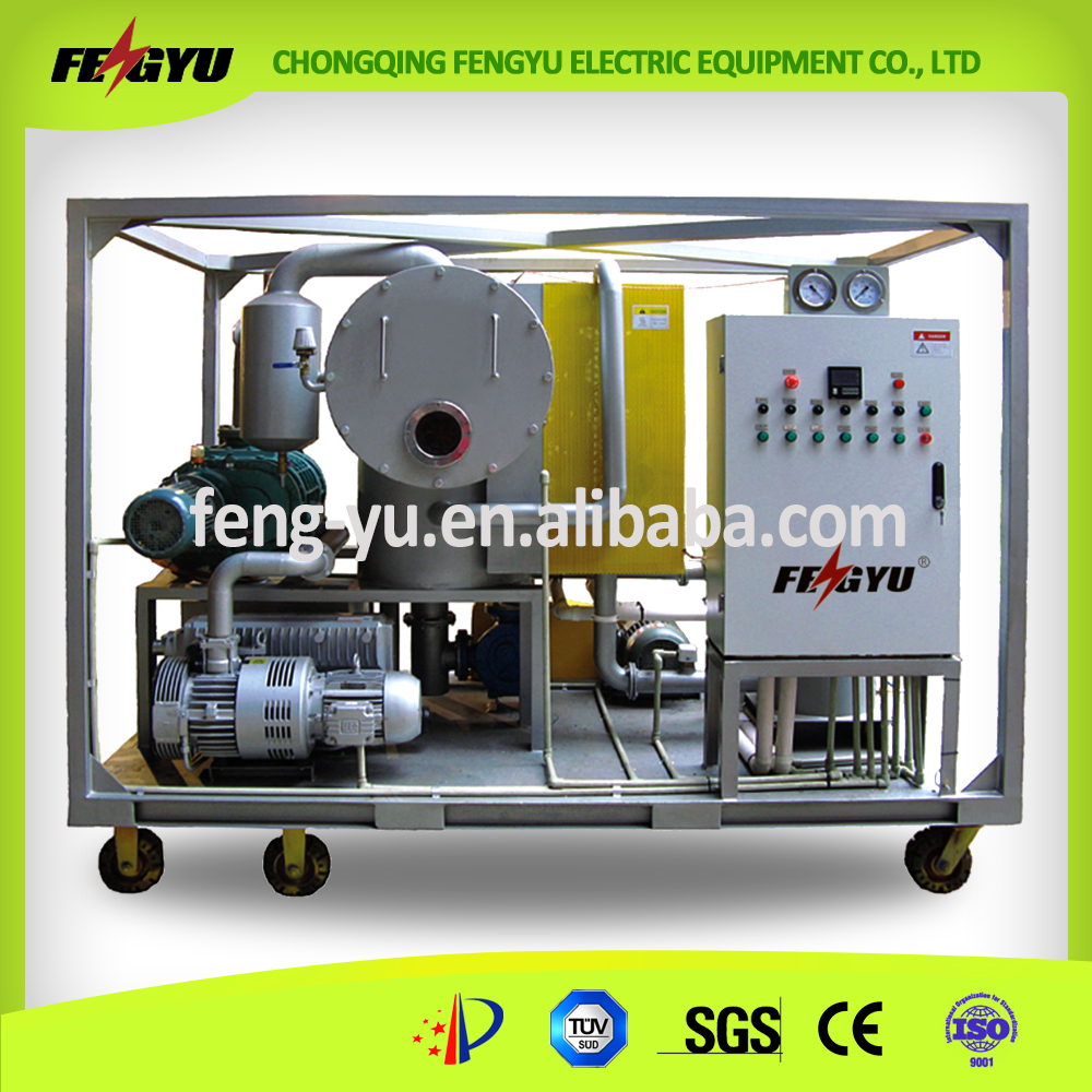 Cheap vacuum oil purifier/vacuum transformer oil filter for transformer oil