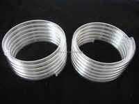 Rohs quality helical quartz glass tube for heater