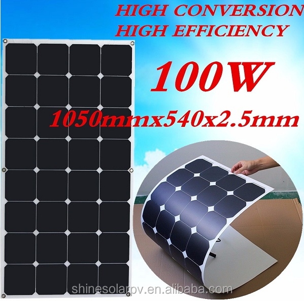Top supplier high quality sunpower Poly Solar Panel 100W