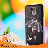 New arrival PC bling crystal 3D diamond printed mobile phone case for samsung galaxy s5